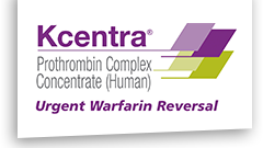 Kcentra prothrombin complex concentrate (human)